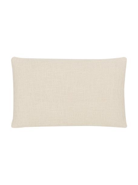 Poszewka na poduszkę Anise, 100% bawełna, Kremowobiały, S 30 x D 50 cm