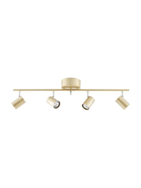 Riel grande Correct, Estructura: metal recubierto, Anclaje: metal recubierto, Dorado, An 83 x Al 18 cm