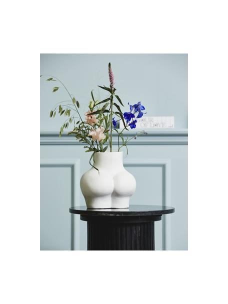Vaso bianco di design Avaji, Ceramica, Bianco, Larg. 22 x Alt. 23 cm