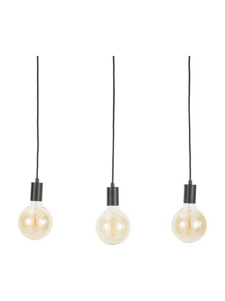 Lampa wisząca Dina, Czarny, S 60 x G 6 cm