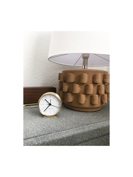 Reloj de mesa Hannah, Dorado, Ø 9 x Al 9