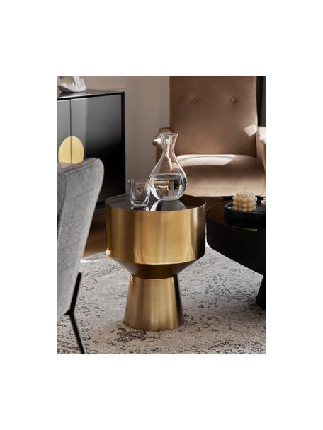Vasos de vidrio soplado artesanalmente Hammered, 4uds., Vidrio soplado artesanalmente, Transparente, Ø 9 x Al 10 cm