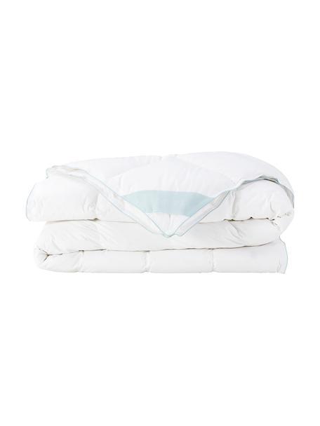 Reine Daunen-Bettdecke Premium, extra leicht, Hülle: 100% Baumwolle, feine Mak, Weiß, 240 x 220 cm
