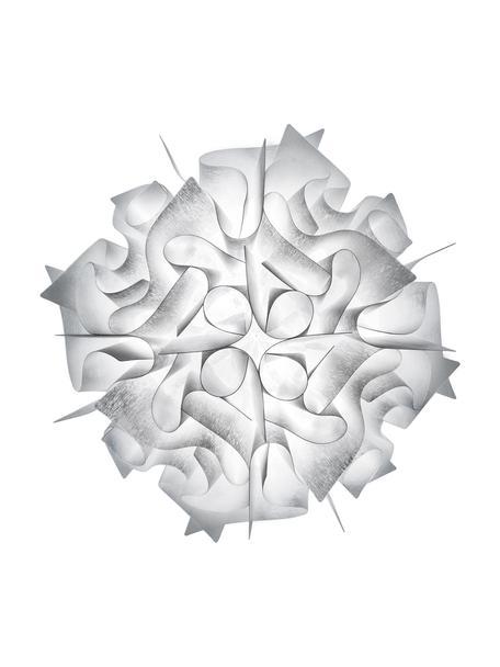 Design Deckenleuchte Veli aus Kunststoff, Lampenschirm: Technopolymer Opalflex®, Weiss, Ø 32 x H 15 cm