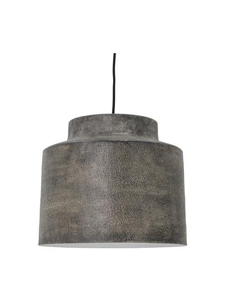 Hanglamp Grei met antieke afwerking, Lampenkap: metaal, Grijs, Ø 36 x H 31 cm