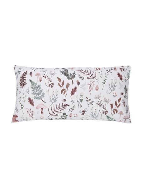 Designer Perkal-Kopfkissenbezüge Mushroom aus Bio-Baumwolle von Candice Gray , 2 Stück, Webart: Perkal Fadendichte 180 TC, Mehrfarbig, 40 x 80 cm