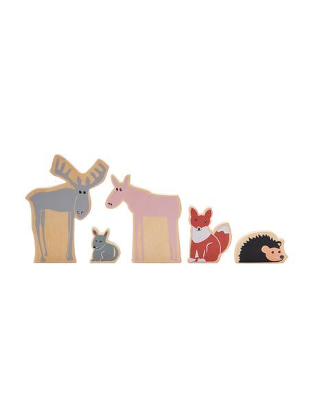 Spielzeug-Set Boni, 5-tlg., Holz, Mehrfarbig, Set mit verschiedenen Grössen