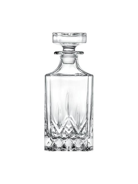 Dekanter ze szkła kryształowego Opera, 750 ml, Szkło kryształowe, Transparentny, W 22 cm