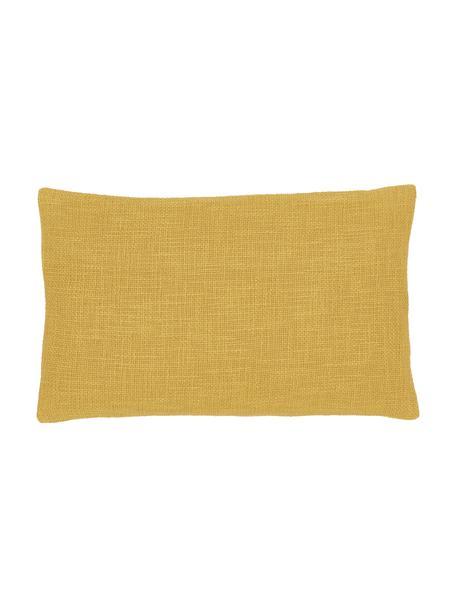 Kissenhülle Anise in Gelb, 100% Baumwolle, Gelb, 30 x 50 cm