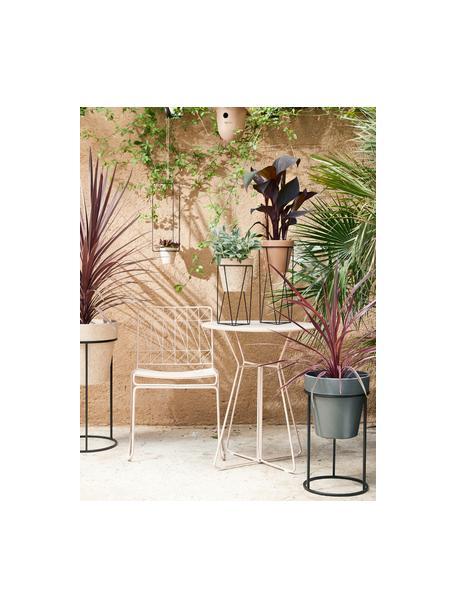 Silla para balcón Bueno, Metal recubierto, Rosa, An 55 x Al 77 cm