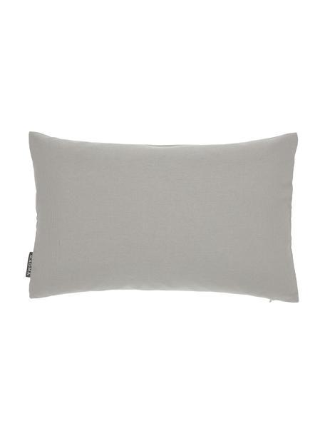 Poszewka na poduszkę zewnętrzną Blopp, Dralon (100% poliakryl), Jasny szary, S 30 x D 47 cm