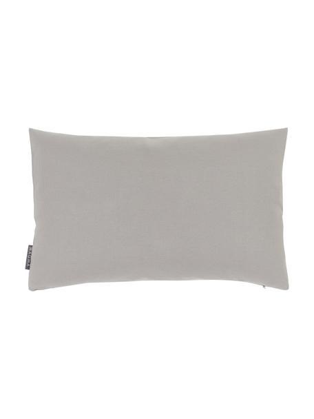 Federa arredo da esterno color grigio chiaro Blopp, Dralon (100% poliacrilico), Grigio chiaro, Larg. 30 x Lung. 47 cm