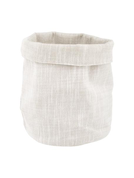 Panera de algodón Kari, Algodón, Beige, Ø 30 x Al 26 cm