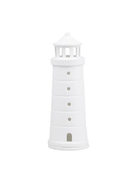 Świecznik na podgrzewacze z porcelany Living, Porcelana, Biały, Ø 7 x W 18 cm