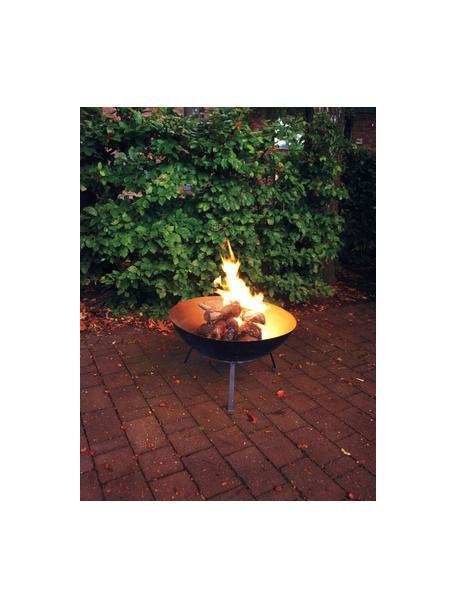 Feuerschale Blaze, Metall, beschichtet, Schwarz, Ø 59 x H 35 cm