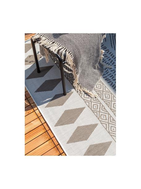 Tappeto fantasia beige/crema da interno-esterno Nillo, 100% polietilene, Grigio chiaro, taupe, Larg. 120 x Lung. 170 cm (taglia S)