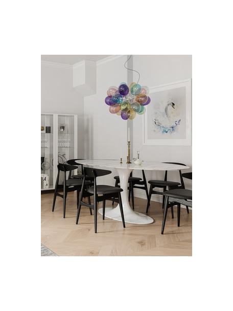 Lámpara de techo Gross, Fijación: níquel cromado, Anclaje: metal recubierto, Cable: plástico, Multicolor, Ø 50 cm
