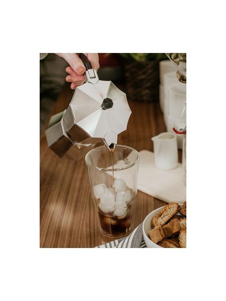 Bicchiere in vetro termico a doppia parete Hot & Cold, Vetro borosilicato, Trasparente, Ø 9 x Alt. 15 cm