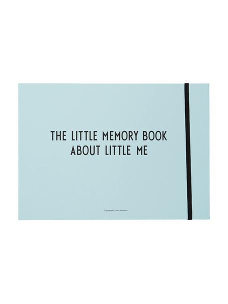 Babyboek Little Memory Book, Papier, Blauw, 30 x 21 cm