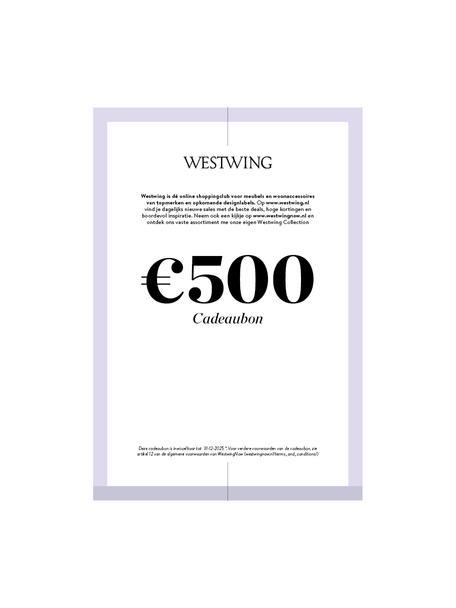 Cadeaubon om zelf te printen, Digitale cadeaubon Na ontvangst van de betaling ontvang je een e-mail met de downloadlink naar je cadeaubon. Je kunt het PDF-bestand gemakkelijk opslaan en afdrukken., Multicolour, 500