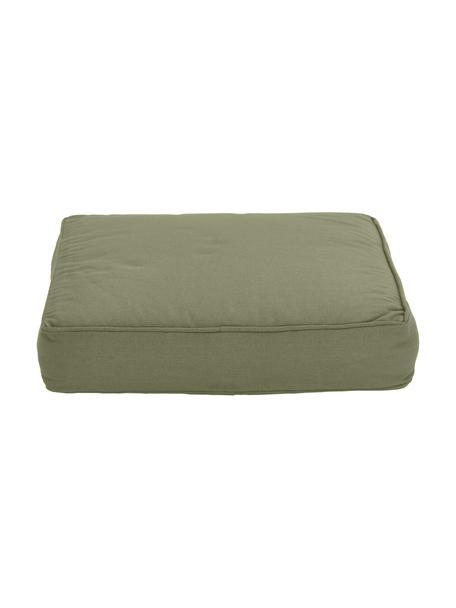 Cojín de asiento Zoey, Funda: 100%algodón, Verde, An 40 x L 40 cm