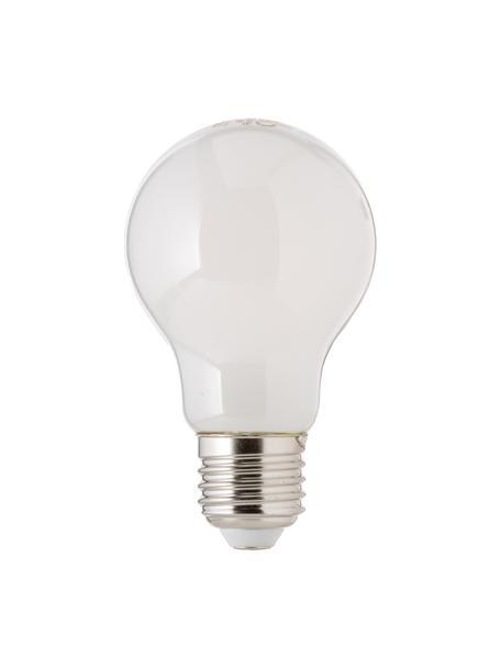 E27 Leuchtmittel, 8.3W, dimmbar, warmweiß, 3 Stück, Leuchtmittelschirm: Kunststoff, Leuchtmittelfassung: Aluminium, Weiß, Ø 6 x H 10 cm