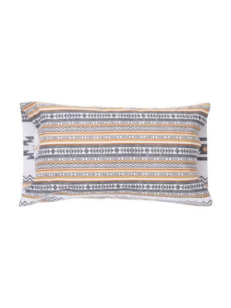 Funda de almohada Aztec, 50x110cm, 100%algodón El algodón da una sensación agradable y suave en la piel, absorbe bien la humedad y es adecuado para personas alérgicas, Multicolor, An 50 x L 110 cm