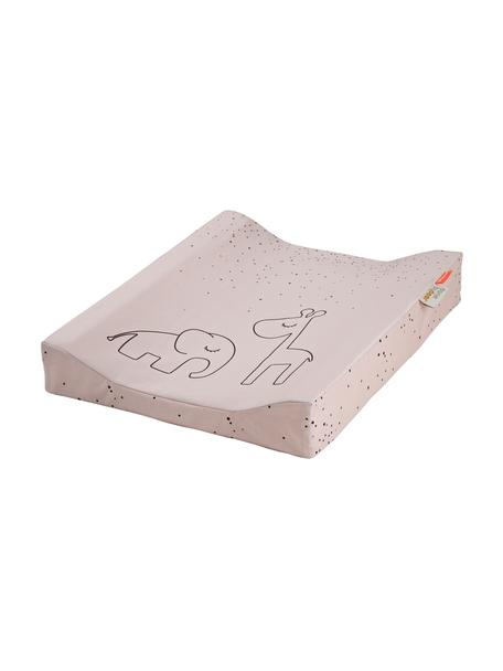 Przewijak Dreamy Dots, Tapicerka: 100% bawełna, certyfikat , Blady różowy, S 50 x D 65 cm