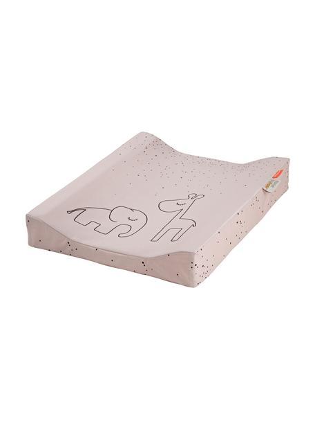 Wickelkissen Dreamy Dots, Bezug: 100% Baumwolle, Oeko-Tex-, Matratze: 100% PU-Schaumstoff, Rosa, 50 x 65 cm