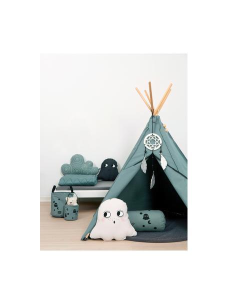 Kinder-tipi Hippie, 100% biokatoen, GOTS-gecertificeerd, Grijs, 135 x 135 cm