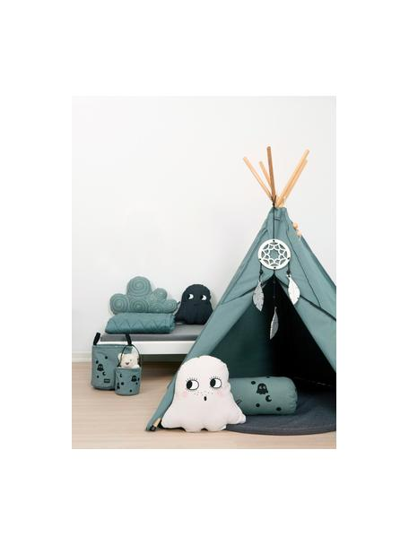 Tipi dla dzieci z bawełny organicznej Hippie, 100% bawełna organiczna, Szary, S 135 x W 135 cm