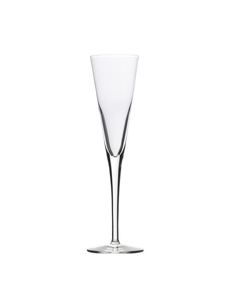 Kieliszek do szampana ze szkła kryształowego Event, 6 szt., Szkło kryształowe, Transparentny, Ø 7 x W 24 cm