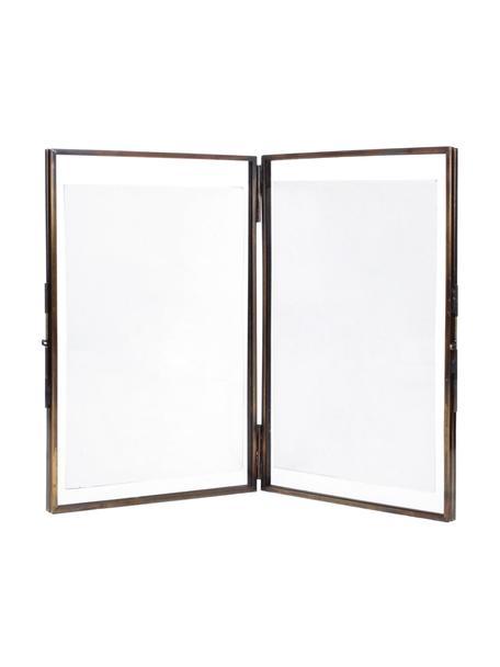 Portafoto multiplo Collector Two, Cornice: ottone rivestito, Bronzo, 10 x 15 cm