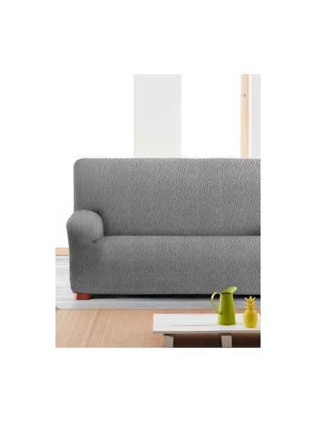 Pokrowiec na sofę Roc, 55% poliester, 35% bawełna, 10% elastomer, Szary, S 260 x W 120 cm