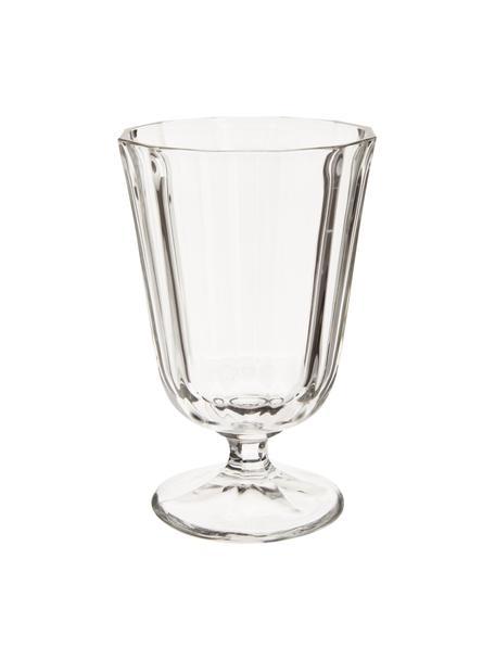 Kleine Weingläser Ana im Landhausstil, 12 Stück, Glas, Transparent, Ø 8 x H 12 cm