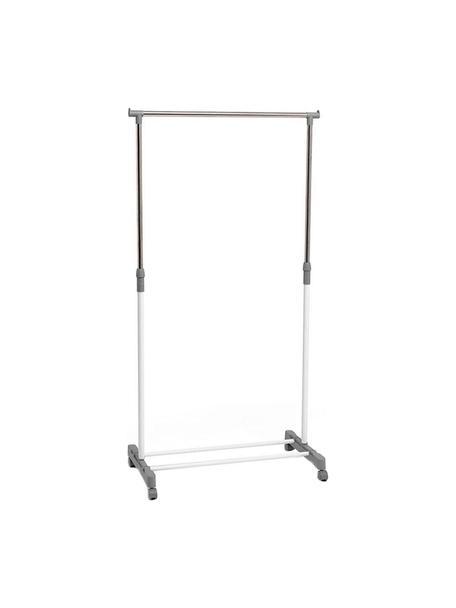 Burro Classy Bruno, Metal, polipropileno, Gris, blanco, An 75 x Al 98 cm