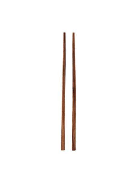 Pałeczki Asia, 6 szt, Drewno Palawan, Drewno Palawan, D 23 cm