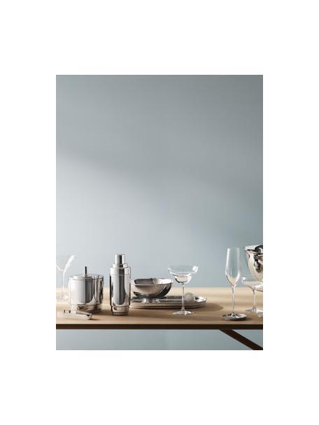 Edelstalen ijsemmerset Manhattan met ijstang, 2-delig, Hoogglanzend gepolijst edelstaal, Edelstaalkleurig, Set met verschillende formaten