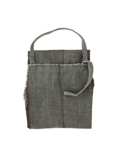 Fartuch Ripo, 100% bawełna, Ciemny szary, melanżowy, czarny, S 65 x D 85 cm