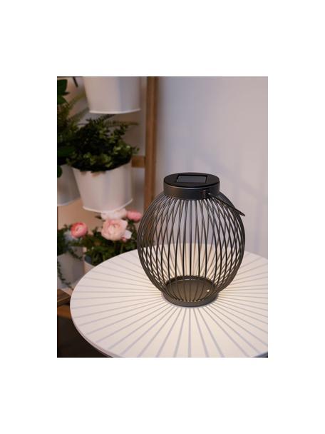 Outdoor solar lamp Harmony om op te hangen of te zetten, Lamp: metaal, Antraciet, Ø 17 x H 20 cm