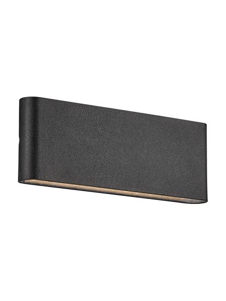 LED-Außenwandleuchte Kinver, Schwarz, 26 x 9 cm