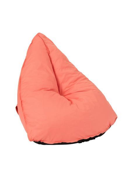 Worek do siedzenia Triangle, Tapicerka: 100% poliester, Odcienie koralowego, S 94 x W 81 cm