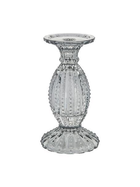 Świecznik Silva, Szklanka, Szary, transparentny, Ø 11 x W 19 cm