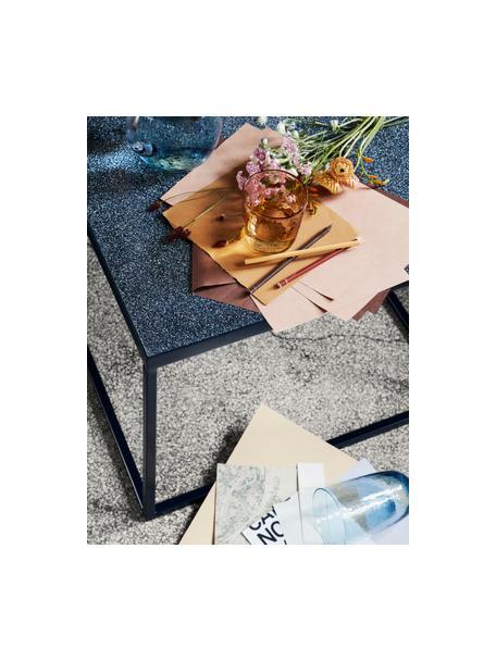 Mondgeblazen waterglazen Hammered met oneven oppervlak, 4 stuks, Glas, Amberkleurig, Ø 9 x H 10 cm