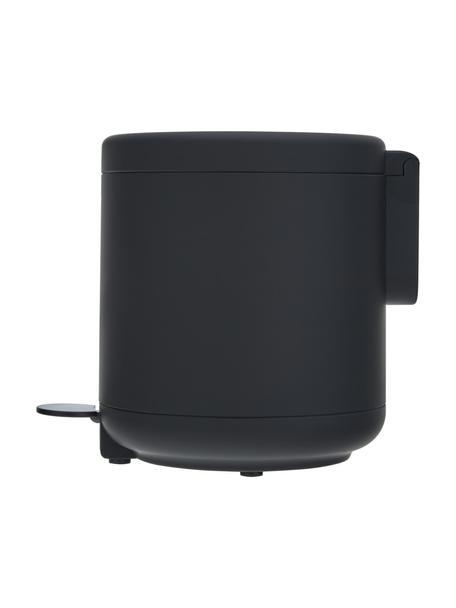 Abfalleimer Ume mit Pedal-Funktion, Kunststoff (ABS), Schwarz, matt, Ø 20 x H 22 cm