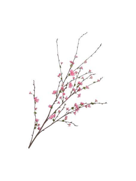 Kunstzweig Kirschblüte, Rosa, Kunststoff, Metalldraht, Rosa, L 97 cm