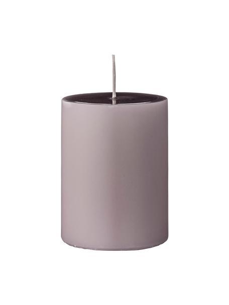 Świece pieńkowe Lulu, 4 szt., Wosk, Blady różowy, Ø 7 x W 10 cm