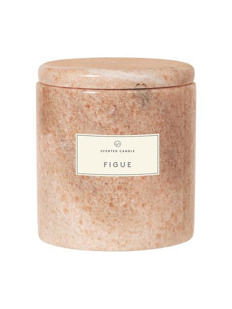 Candela profumata Frable (fico), Contenitore: marmo, Marrone, Ø 10 x Alt. 11 cm