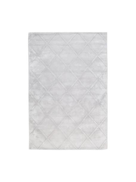 Ręcznie tuftowany dywan z wiskozy Shiny, Jasny srebrnoszary, S 120 x D 180 cm (Rozmiar S)