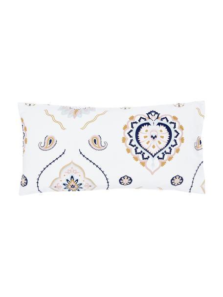 Poszewka na poduszkę z perkalu Pippa, 2 szt., Wielobarwny, S 40 x D 80 cm